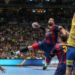 Velux EHF Final4  Champions League 2015 May 30th Cologne/Germany Semi-Final FC Barcelona vs KS Vive Tauron Kielce Photo: Joern Pollex/EHF