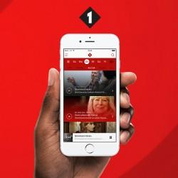 ORF Radio Ö1 Oe1 iOS App Design