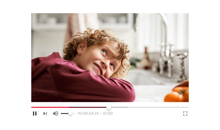 ORF Admin Dashboard Video Player Material Design